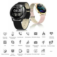 Bluetooth Smart Watch Women Fashion Waterproof Fitness Tracker for iOS Android