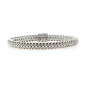 "John Hardy Classic Chain Bracelet 8"" Sterling Silver 925"