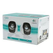 Logitech Z120 Silver/Black Stereo Speakers 980-000513 [LC02807]