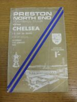 25/01/1969 Preston North End v Chelsea [FA Cup] (Creased, Folded, Worn). If this