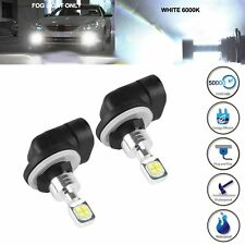 2X White High Power 80W 881 2525 SMD LED Fog Driving Light Bulb Lamp 886 894 896
