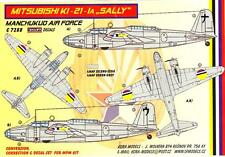 "KORA Models 1/72 MITSUBISHI Ki-21-Ia ""SALLY"" Manchukuo Air Force Resin Set"