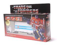 Transformers Optimus Prime G1 Réédition AutoBot Blanc Collection Cadeau