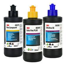 3M 09375 Fine Compound + 3M 50383 Anti Hologramm + 3M 80349 Extra Fine Plus Set