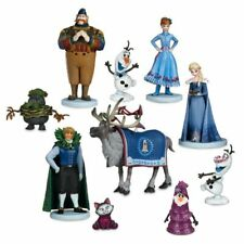 10Pcs Frozen Action Figure Elsa Anna Set Kids CHRISTMAS Xmas Gifts Toys Dolls