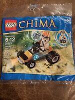 LEGO sealed Baggie set 30253 LEGENDS CHIMA Leonidas Jungle Dragster Minifigure