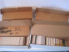 Huge Lot of Topps Baseball Card Lot 1989 Late 80's early nineties boxes mixed