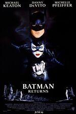Batman Returns movie poster (c) : 11 x 17 inches Tim Burton, Michael Keaton