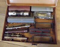 12 Ancienne maquette Ferroviaire jouet Wagon Jouef & Märklin Algeco Rhone progil