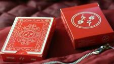 Red Roses Playing Cards Rare Limited Magic Poker Deck not bicycle