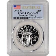 2016-W American Platinum Eagle Proof (1 oz) $100 - PCGS PR70 DCAM - First Strike