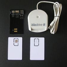 4G LTE FDD WCDMA CCID SIM/USIM Smartcard Reader/Writer+Converter+2*Blank Cards