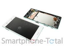 Sony Xperia X F5121 display lcd module + frame white 1302-4795