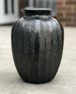 Martin Brothers London Southall salt-glazed stoneware vase 1906