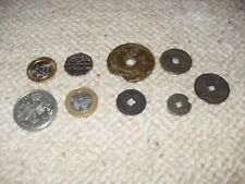 Selection of modern and old coins