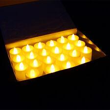 24*Stk LED Teelichter Partylite Elektrisch Kerzen Teelicht Flackernd Flammenlos