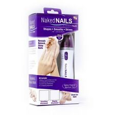 Finishing Touch Naked Nails Electronic Nail Care System, File/Buff and Shine