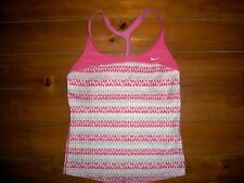 NIKE Fit dry  -  workout - Top Shirt W / Lightly padded Sports Bra Small