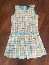 HYPE Dress SIZE 16 Blue/ White