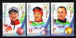 Belarus 2010 Sc731-33  Mi815-17  3v  mnh  Medal Winners at XXI Olympic Winter