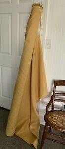 Herman Miller Vintage Commercial  Upholstery Fabric Mineral Yellow Honey Color
