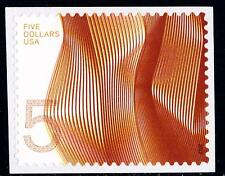 Scott #4719 $5.00 Waves of Color - Orange Self-Adhesive Single - MNH