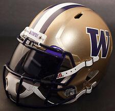 WASHINGTON HUSKIES NCAA Authentic GAMEDAY Football Helmet w/ OAKLEY Eye Shield
