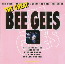BEE GEES • The Great Bee Gees [1994 Great Music CD] NEW! SEALED! Barry, Robin,