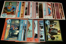 DC Superman The Movie TOPPS Trading Cards 1978 MISC SM 36CT.