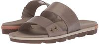 Sorel Torpeda Slide II Sandal Women's size 8 Kettle/Fawn Leather