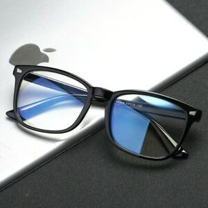 Square Anti blue rays Light Coating computer  Gaming Black  Glasses  for Unisex