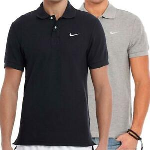 Nike Mens Polo Shirt Classic Cotton Pique Short Sleeve Collared T Shirts Tee Top