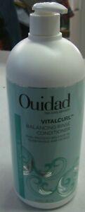 Ouidad Vitalcurl Balancing Rinse Conditioner 33.8 oz
