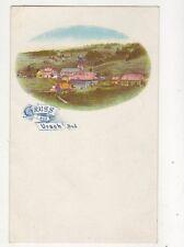 Gruss Aus Urach i Bad Germany Vintage U/B Postcard 680b