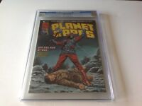 PLANET OF THE APES 11 CGC 8.5 BULLET HOLE IN HEAD COVER CLASSIC MARVEL MAGAZINE