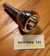 Bach Corp 12C Small Shank Trombone/Baritone/Euphonium Mouthpiece