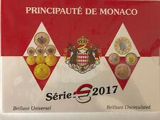 Monaco euro BU 2017 sous blister KMS