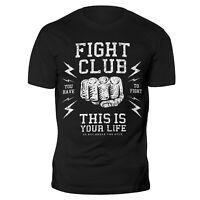 Fight Club T Shirt Gym MMA UFC Boxing Martial Arts Krav Maga Karate Muay Thai