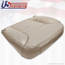"1995 to 1999 Chevy Tahoe Suburban Passenger-Side Vinyl Bottom Seat Cover ""Tan"""
