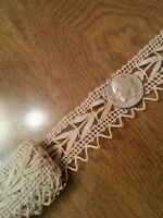 Antique Lace Trim Edging Dolls Design Repair Sewing Art Crafters 1 Yard