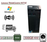 Cheap Lenovo ThinkCentre M71e Intel Core i3-2100@3.10 4GB RAM 500GB HDD DVD Wifi