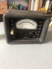 Ancien Multimètre Contrôleur METRIX 462 E Vintage  bon état
