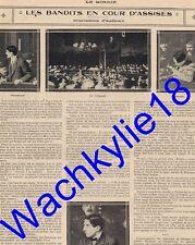 Le miroir n°47 - 16/02/1913 Poincaré Loubert Gilda Dartthy Procès Bande à Bonnot