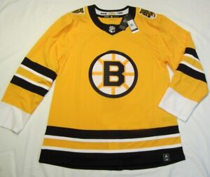 BOSTON BRUINS size 50 = Medium Reverse Retro ADIDAS authentic hockey jersey
