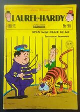 LAUREL & HARDY COMIC BOOK No. 90 Sweden 1971 ~ VG/FN Condition IMPORT SCARCE