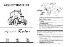 Werkstatthandbuch Zetor 5211 5245 6211 6245 7211 7245 IFA Fortschritt Handbuch