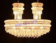 Palace OVAL  22 light Crystal Chandeliers light Chrome - Precio Mayorista