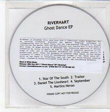 (DD633) Riverhart, Ghost Dance EP - 2011 DJ CD