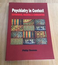 Psychiatry in Context by Professor Philip Thomas Paperback Book (English)