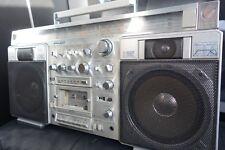 Sanyo M-X920 GHETTOBLASTER BOOMBOX RADIO CASSETTE VINTAGE